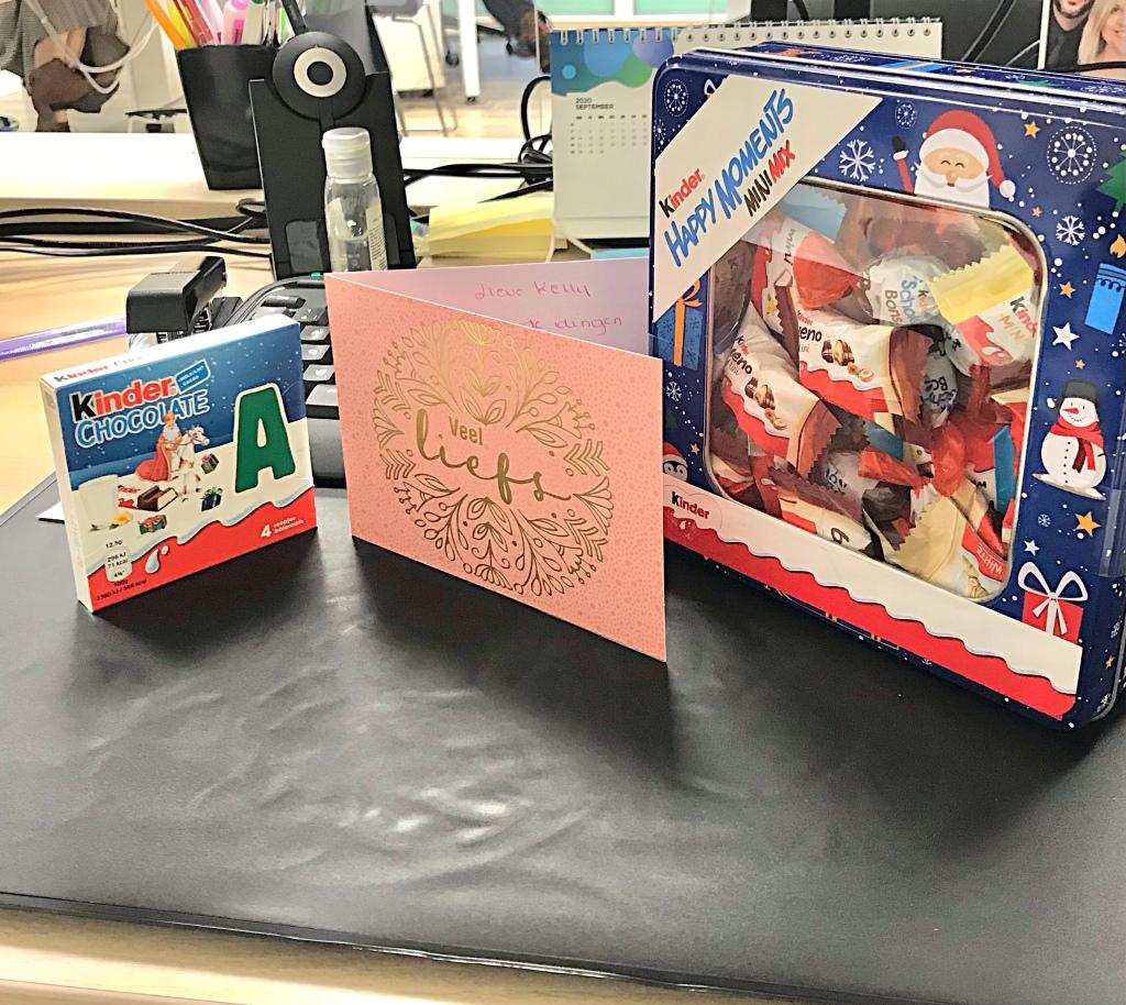 Cadeautjes op het werk!