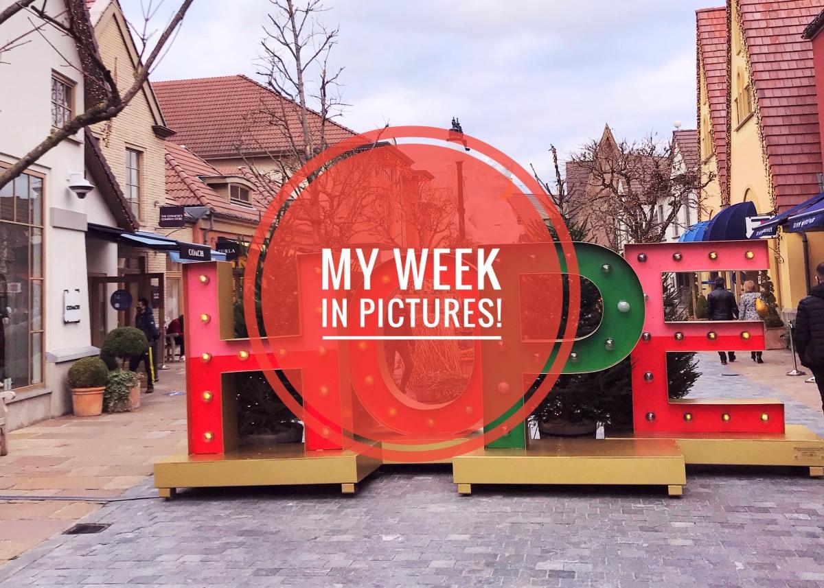 My week inpictures!