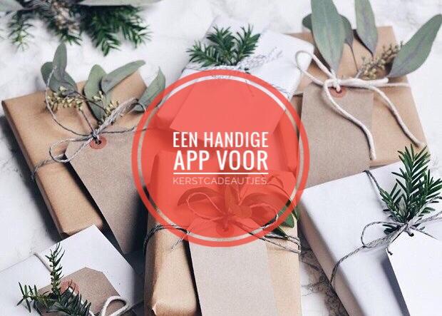 Een handige app voor kerstcadeautjes.