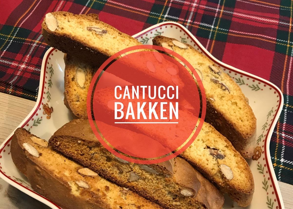 Cantucci bakken